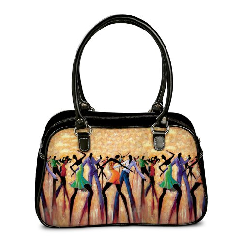 Handbag: Dance The Night Away Handbag by The Bradford Exchange