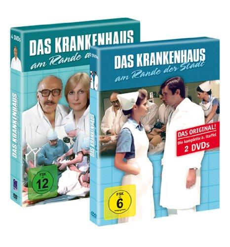 Das Krankenhaus am Rande der Stadt - 1. und 2. Staffel (komplette TV-Serie) 6 DVDs