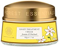 Forest Essentials Jasmine and Patchouli Night Treatment Cream, 50g