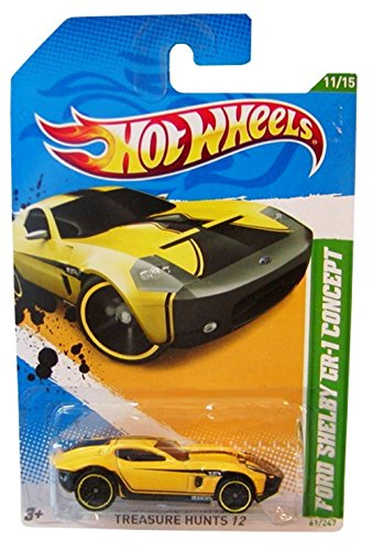 2012 Hot Wheels Treasure Hunt 11/15 - Ford Shelby GR-1 Concept