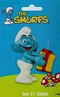 "Smurf Figure 2.75"" Candle"