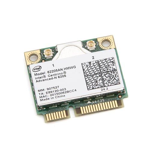 Intel Centrino Carte mini Advanced-N 6205 double bande 802.11a/g/n LAN sans fil