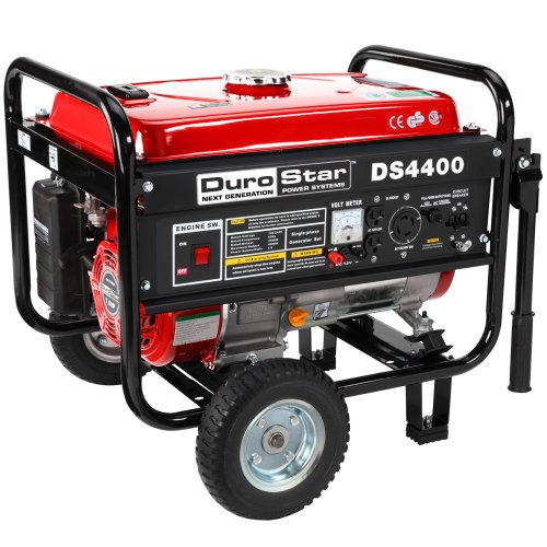 DuroStar DuroStar DS4400 4,400 Watt Gas Powered Portable Generator With Wheel Kit