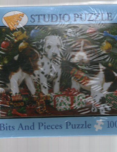 Bits & Pieces Christmas Puppies Jigsaw Puzzle