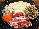 奥津軽いのしし肉 ぼたん鍋セット(3?4人前)