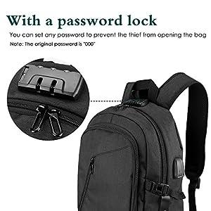 23534b3843 ONSON Anti-Theft Laptop Backpack