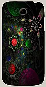 Good Looking multicolor printed protective REBEL mobile back cover for Samsung I9190 Galaxy S4 mini D.No.N-R-2550-S4M
