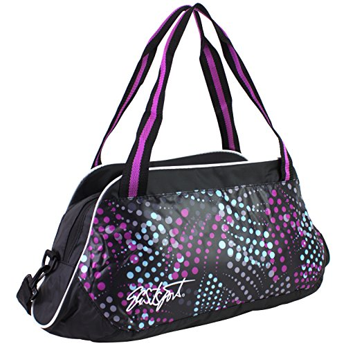 eastsport-womens-tote-duffel-bag-wild-dots-one-size