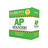 img - for Barron's AP Spanish Flash Cards, 2nd Edition book / textbook / text book