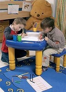 wader kinder spieltisch maltisch schreibtisch sandkasten. Black Bedroom Furniture Sets. Home Design Ideas