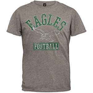 Philadelphia Eagles - Vintage Logo Soft T-Shirt by Old Glory