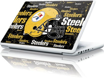 NFL - Pittsburgh Steelers - Pittsburgh Steelers - Blast Dark - Apple MacBook 13-inch - Skinit Skin