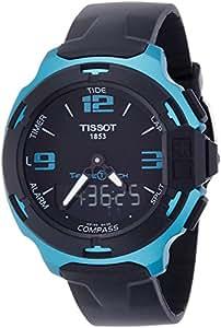 Tissot T-Race Touch Aluminium Black Dial Black