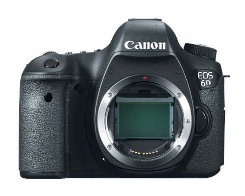 Canon EOS 6D 20.2 MP CMOS Digital SLR Camera with 3.0-Inch LCD (Body Only)