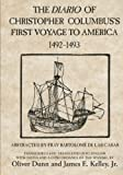 The Diario of Christopher Columbus's First Voyage to America, 1492-1493 (American Exploration and Travel Series) (0806123842) by Columbus, Christopher