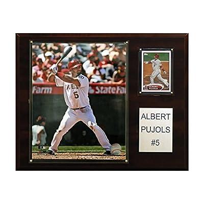 MLB Albert Pujols Los Angeles Angels Player Plaque