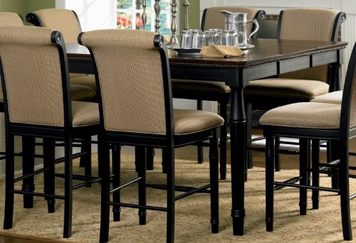 Buy Low Price Coaster Counter Height Dining Table with Carved Apron Cappuccino Finish (VF_AZ00-45856×30621)