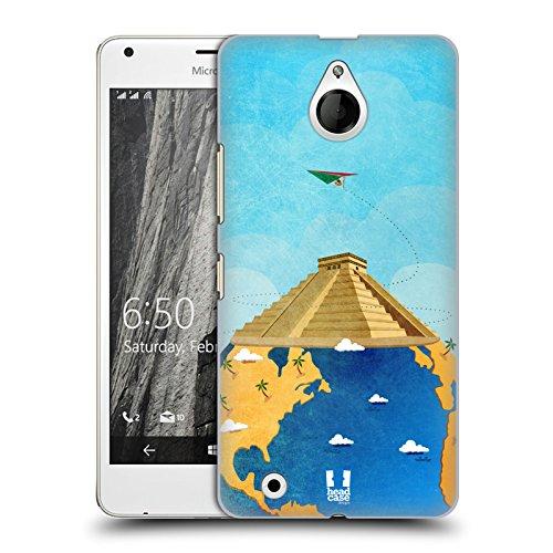 Head Case Designs チチェン・イッツァ 世界旅行 ハードバックケース Microsoft Lumia 850