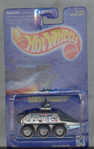 Hot Wheels 1991-63 Radar Ranger All Blue Card 1:64 Scale - 1