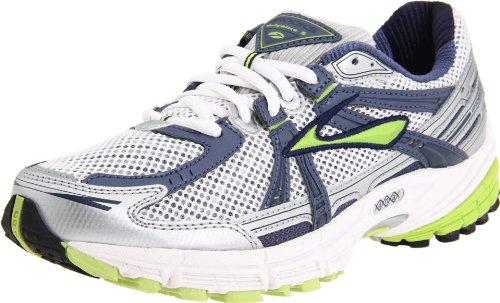 a466cddb2db Brooks Women s Defyance 5 Running Shoe Green Glow Faded Denim ...