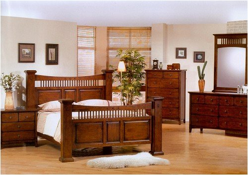 Jackson City Queen Size Six Piece Bedroom Set