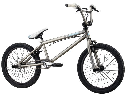 Mongoose Article BMX Freestyle Bike - 20-Inch Wheels (Matte Gray)