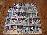San Francisco Giants 1978 Topps Baseball Team Set (30 Cards) (Willie McCovey) (Jack Clark) (Bill Madlock) (Darrell Evans) (John Montefusco) (Johnnie LeMaster) (Bob Knepper)