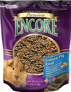 F.M. Brown's Encore Premium Guinea Pig Pet Food, 22.5-Pound