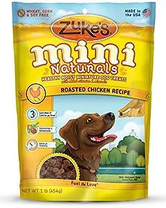 Zukes's Mini Naturals Healthy Moist Training Treats, Variety Pack