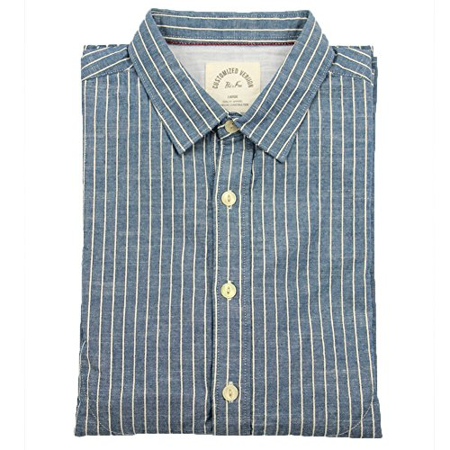 bii-free-mens-long-sleeve-retro-casual-autumn-striped-slim-fit-shirt-100-cotton