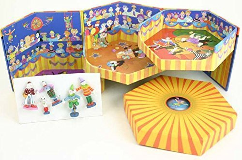 Enchantmints Circus Tiny Town Expandable Box Playset Toy