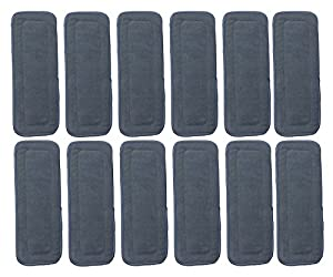 Naturally Natures Soft Baby 5 Layer Charcoal Bamboo Inserts Reusable Liners for Cloth Diapers (Pack of 12) (Grey)