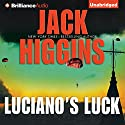 Luciano's Luck (       UNABRIDGED) by Jack Higgins Narrated by Michael Page