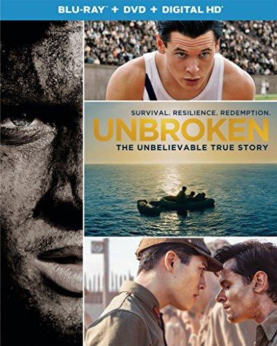 Blu-ray : Unbroken (Ultraviolet Digital Copy, 2 Pack, Digital Copy, Snap Case, Slipsleeve Packaging)