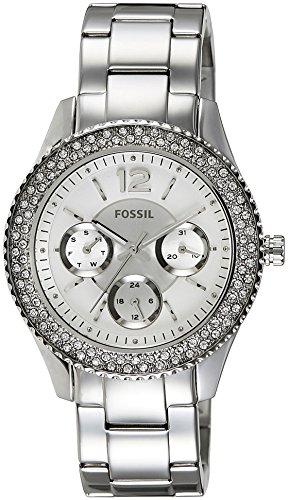 Reloj Fossil Stella Es3588 Mujer Plateado