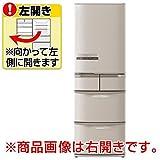 日立 415L 5ドア冷蔵庫(ソフトブラウン)【左開き】HITACHI ビッグ&スリム60 R-K42EL-T