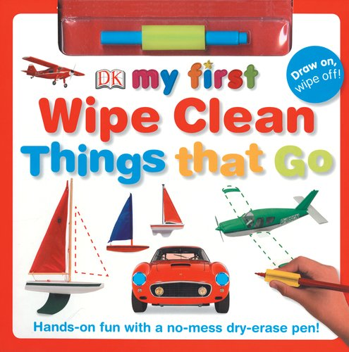 My First Wipe Clean Things That Go
