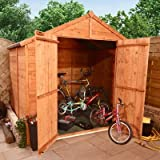 BillyOh 5 x 7 Tongue And Groove Apex Bike Store Shed