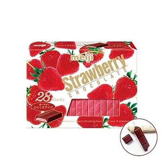 Japanese Chocolate / Japan Choco - Meiji Strawberry Chocolate Bouns Pack
