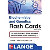 Biochemistry and Genetics Flash Cards: 184 High-yield Cards Deliver a Fast and Effective Review for the USMLE...