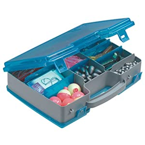 Plano large 2 sided tackle box fishing for Large tackle boxes for fishing