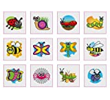 Toy - Insects, Bugs &amp; Creepy Crawlies Temporary Tattoos Pack of 24 - Great Party Loot Bag Fillers