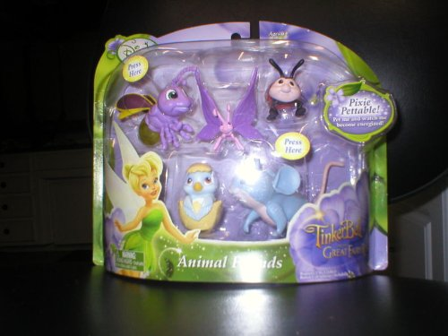 Buy Low Price Jakks Pacific DISNEY FAIRIES TINKERBELL & THE GREAT FAIRY RESCUE ANIMAL FRIENDS FIGURES (B003ZE0WSS)