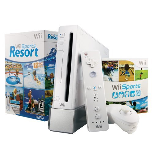 Wii with Wii Sports Resort  White