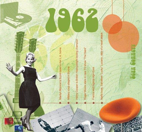 1962 gli anni classici 20 traccia CD biglietto d'auguri