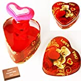Valentine Gifts-Talking Magic Box With Valentine Chocolate Bar