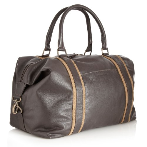 Rocha.John Rocha Designer Brown Large Leather Holdall