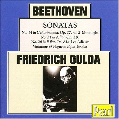 Friedrich Gulda: Beethoven Sonatas (Friedrich Gulda Beethoven Sonata compare prices)