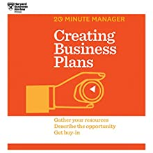 Creating Business Plans (       UNABRIDGED) by  Harvard Business Review Narrated by James Edward Thomas