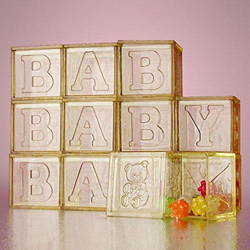 [Mememall Fashion Perfectly Plain Square Shaped Clear Plastic Box Teddy Bear Baby Shower Favors] (Evil Teddy Bear Halloween Costume)